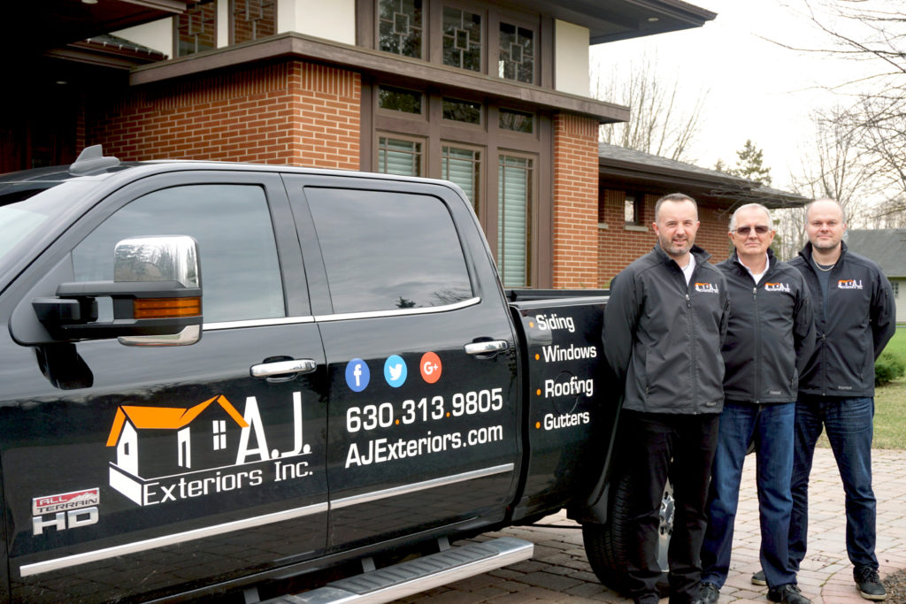 The AJ Exteriors Team