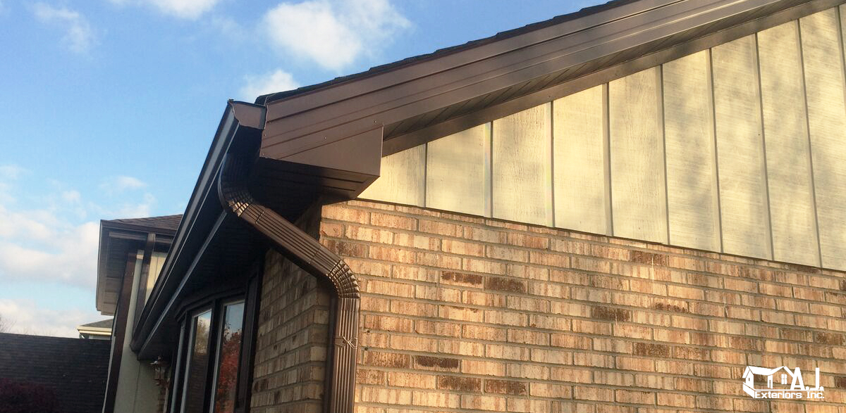 Beige Cedar Wood Siding Repair Aj Exteriors Inc