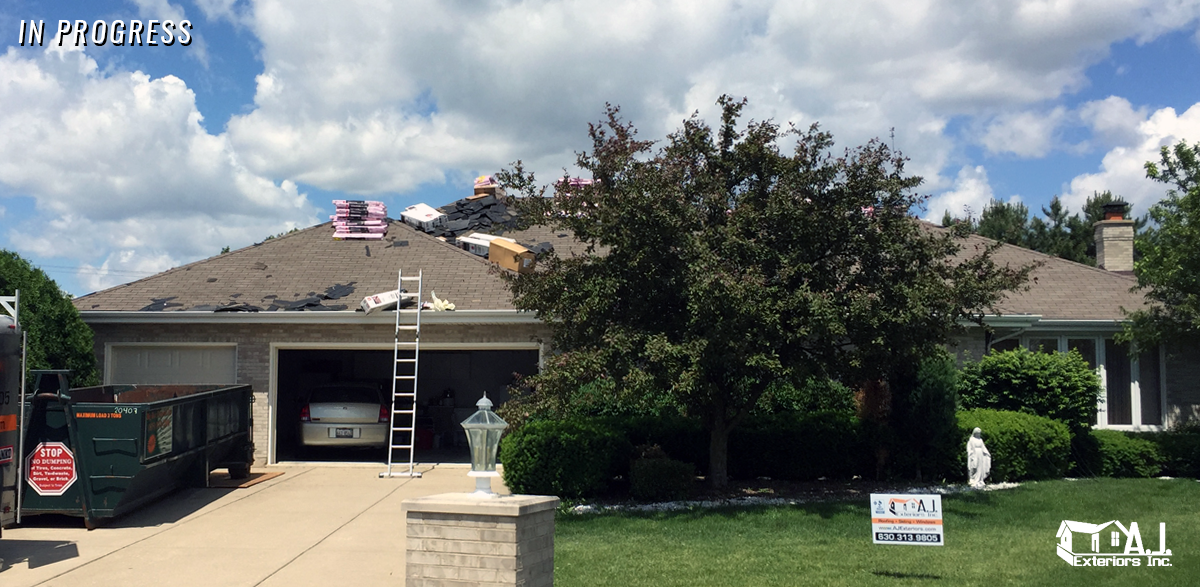 Chicago Suburbs Roofing Contractor Aj Exteriors